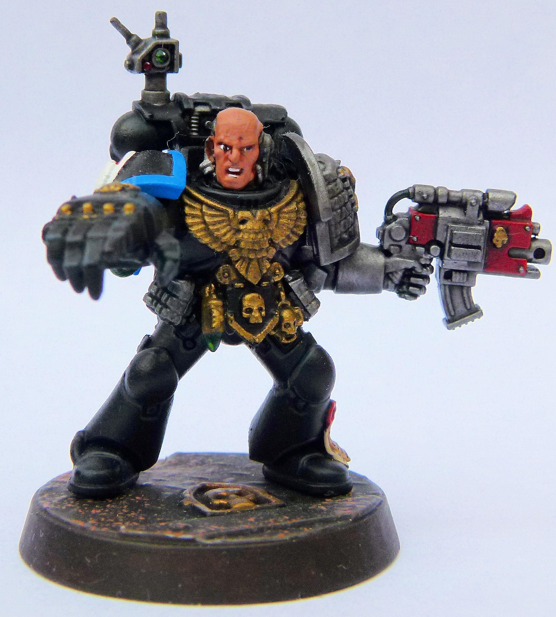 Astral Hawks Deathwatch Veteran Front