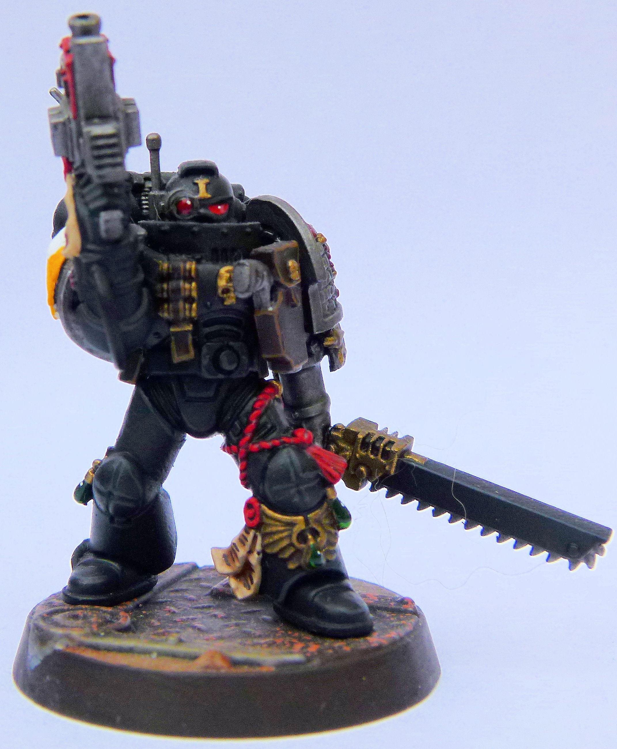 Imperial Harbringers Deathwatch Veteran Front