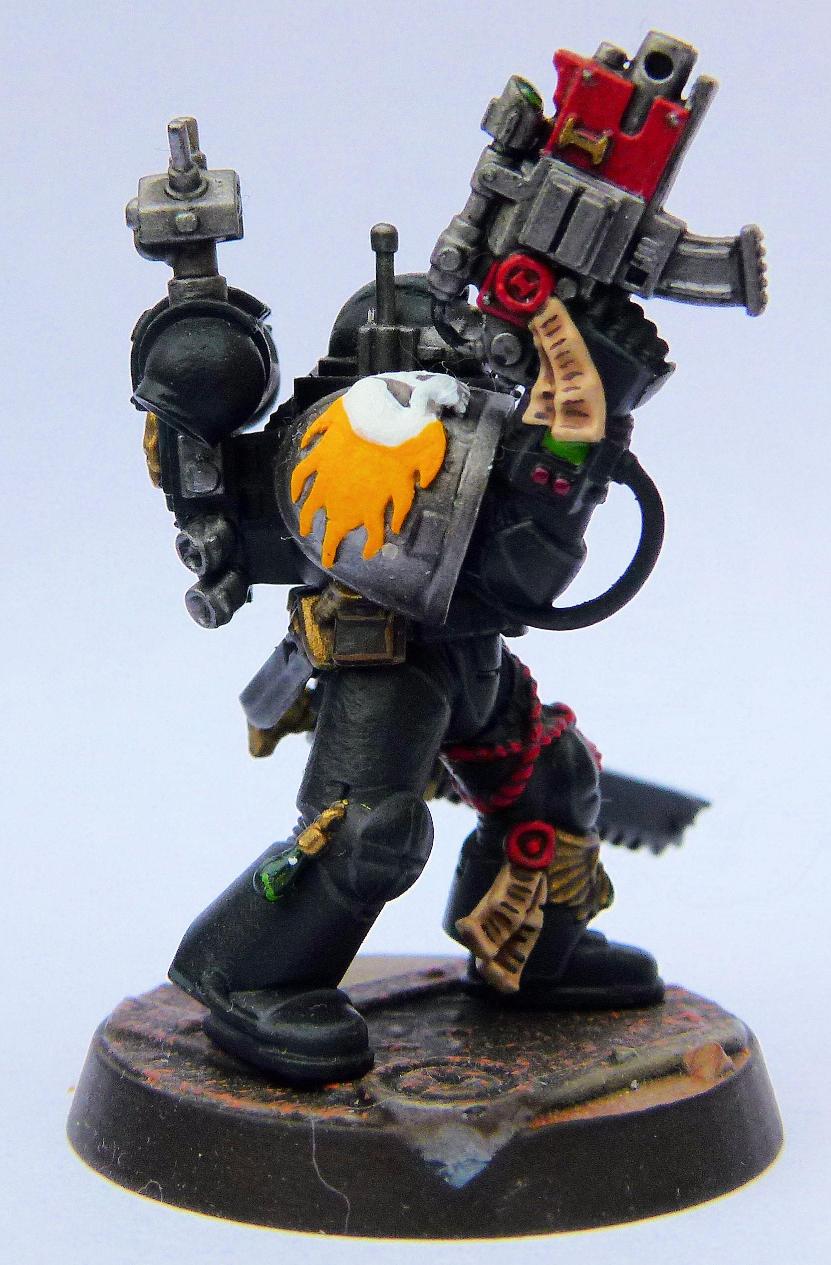 Imperial Harbringers Deathwatch Veteran Right