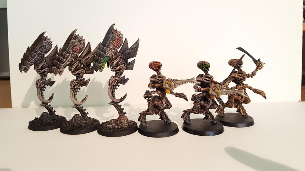 Tyranids, Warhammer 40,000, Warriors, Zoanthrope
