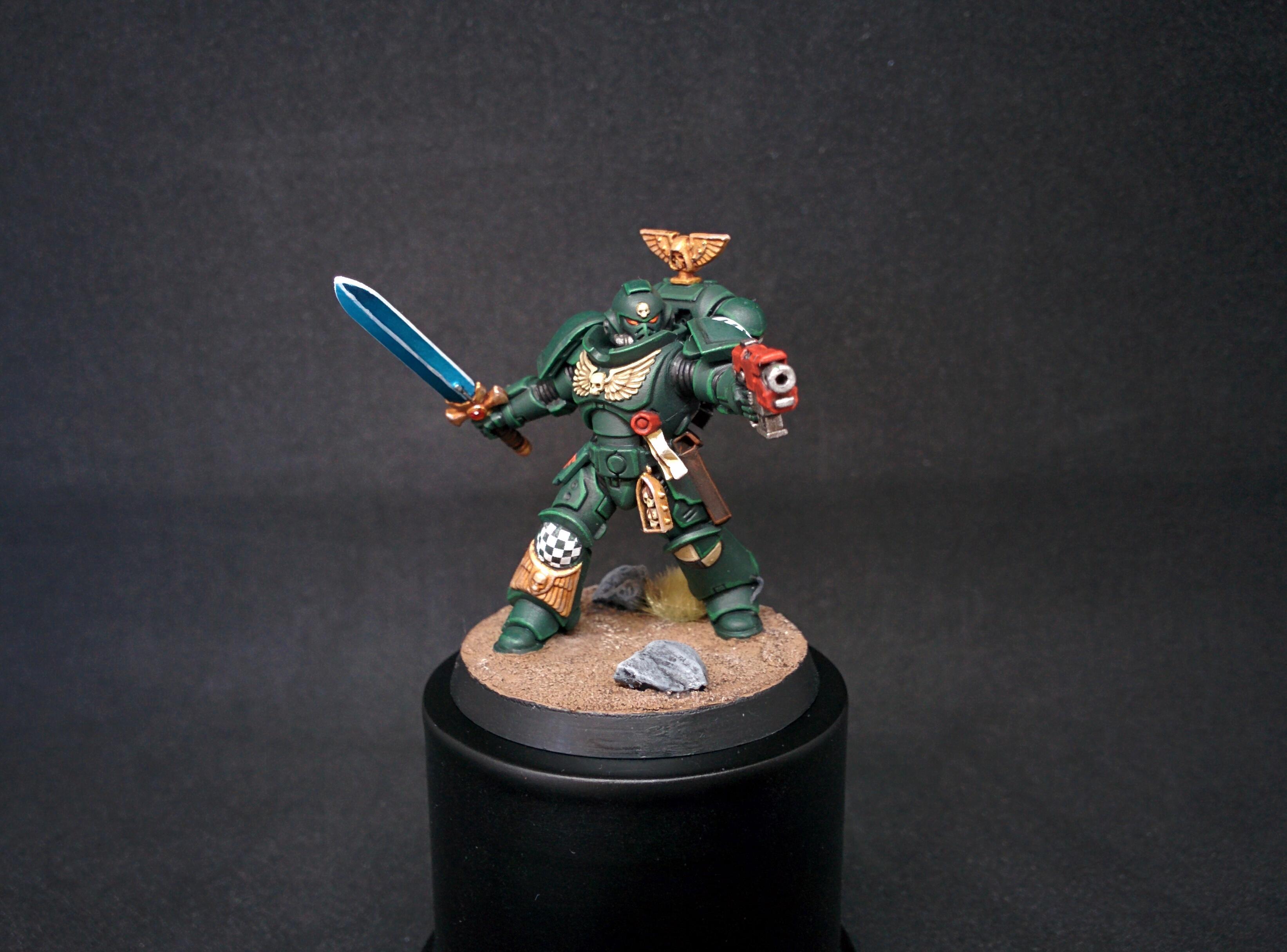 Dark Angels, Dark Imperium, Lieutenant, Miniatures, Primaris, Primaris Space Marine, Space Marines, Warhammer 40,000