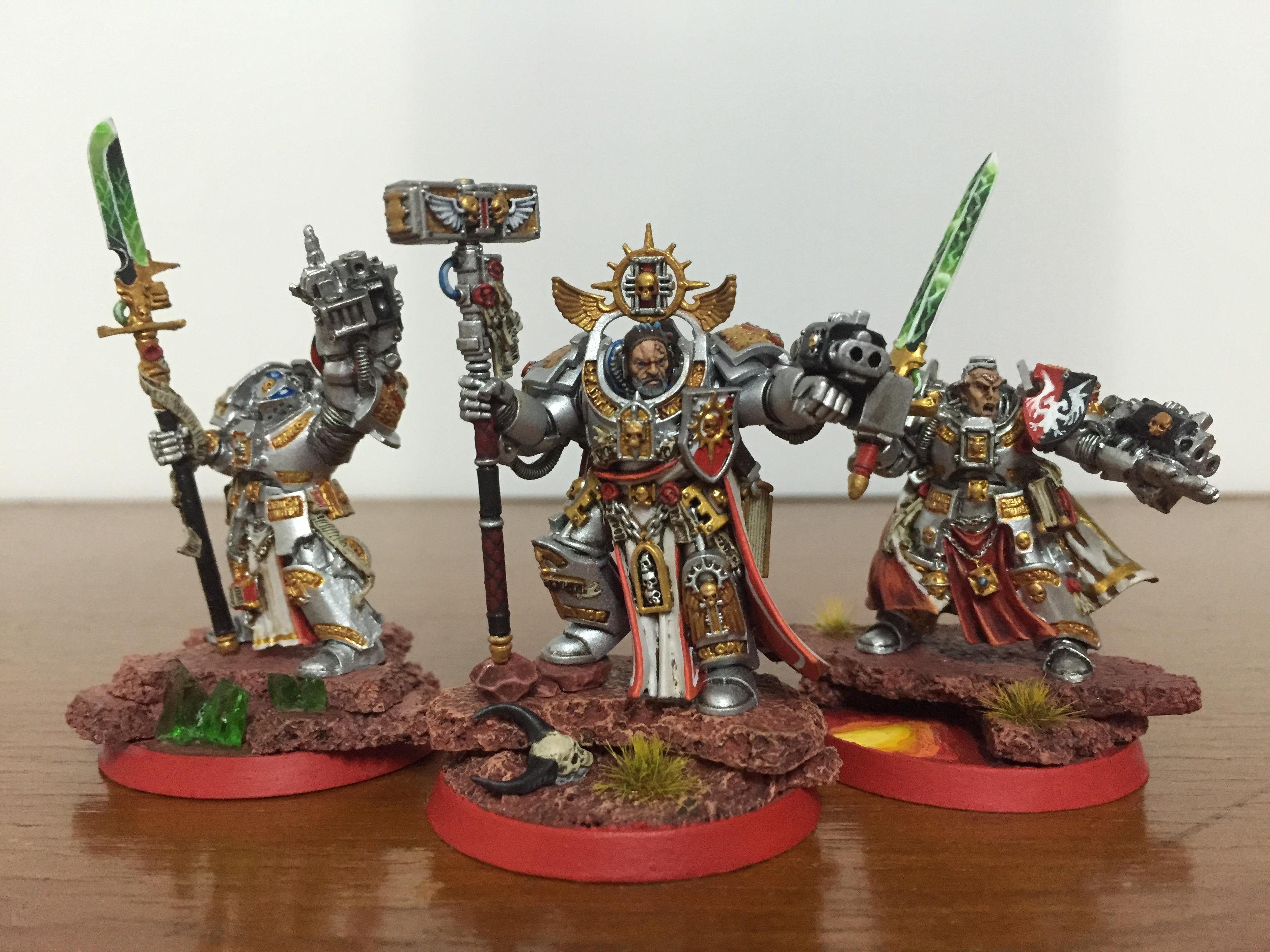 Brother Captain, Grand Master, Grey Knights, Stern, Voldus