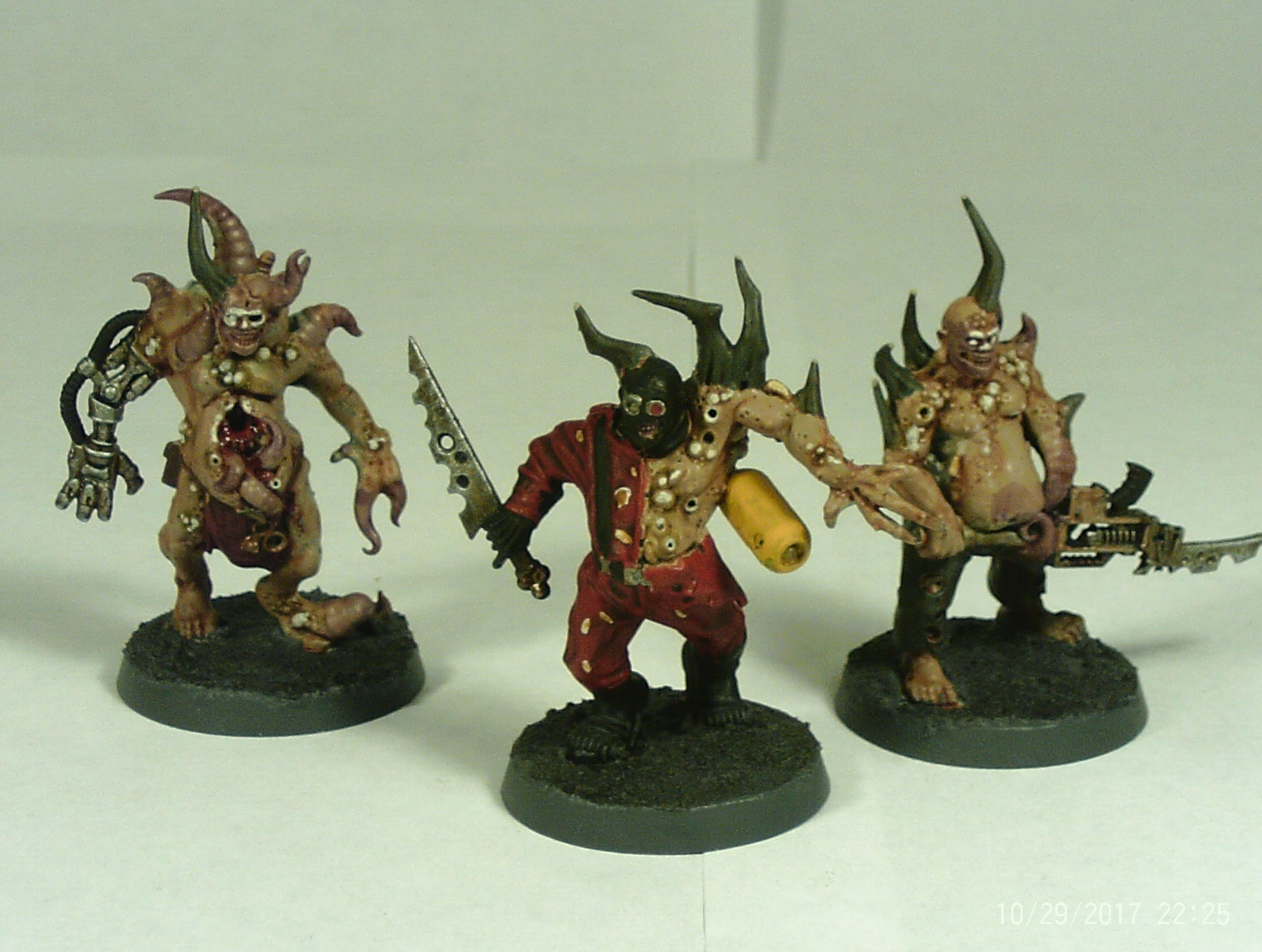 Poxwalkers Group 1 models 6-8 front