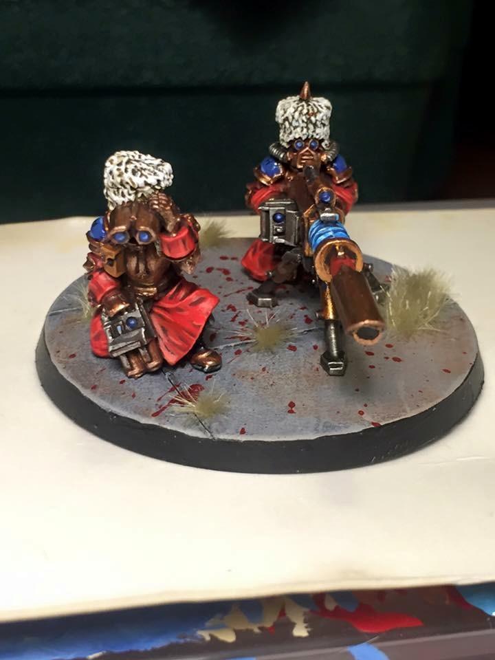 Guard, Heavy Weapon, Imperial Guard, Lascannon, Vostroyan
