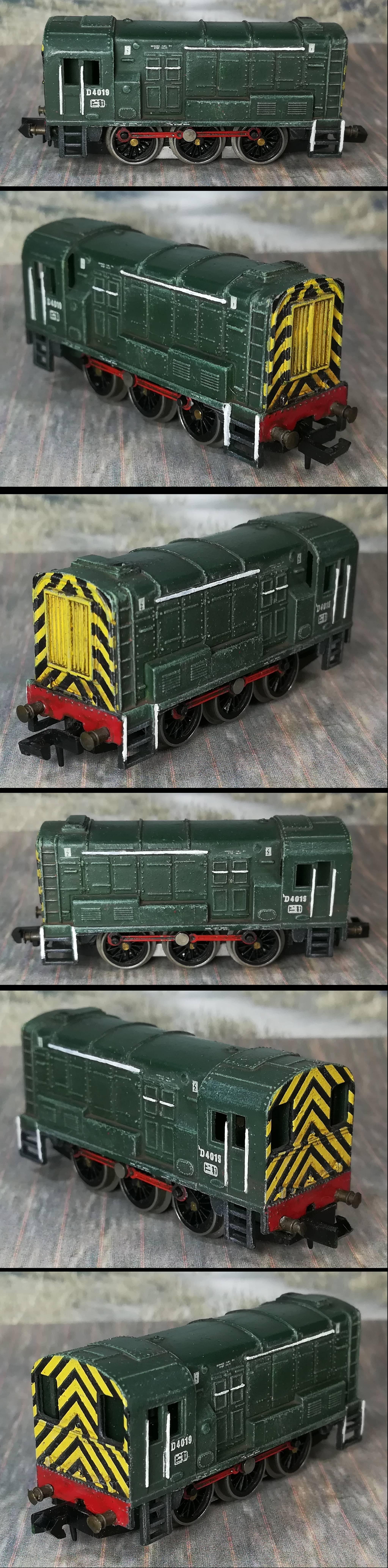 N-Gauge train paint update