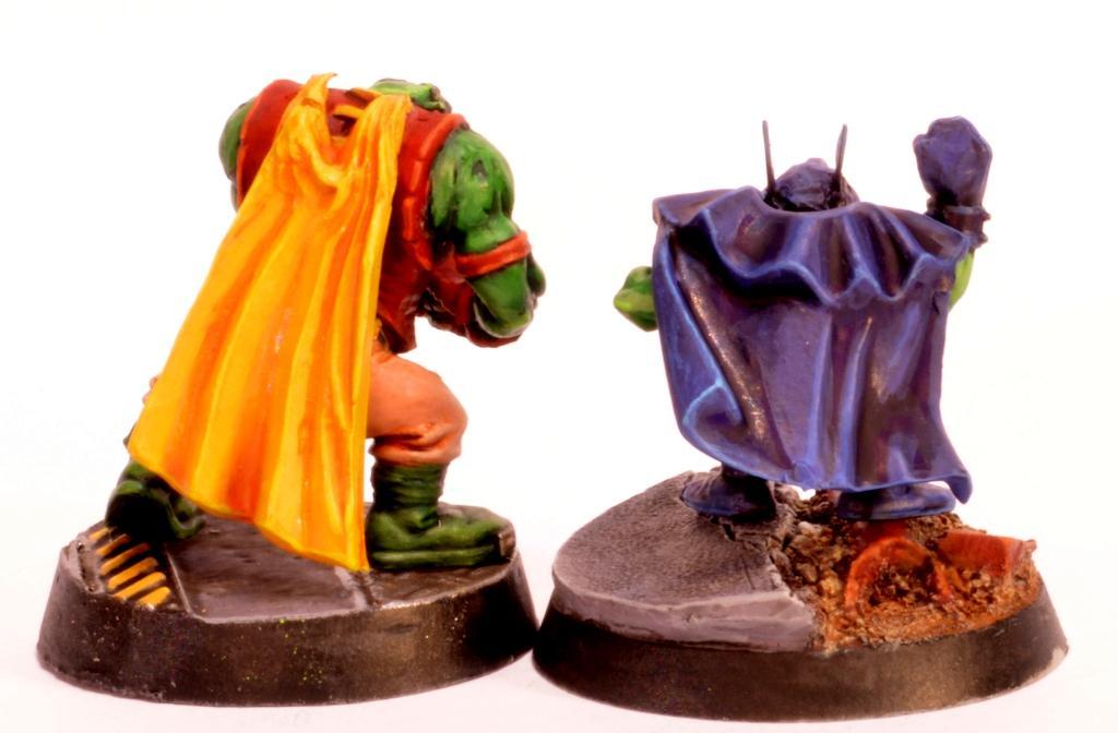 Batman, Goblins, Grots, Orks, Robin