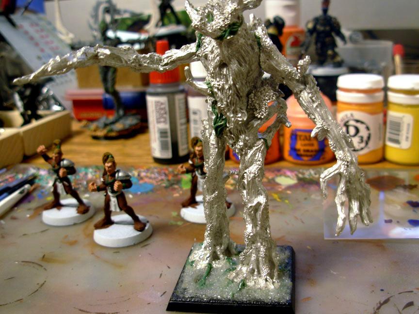 Blood Bowl, Games Workshop, Lord Of The Rings, Treebeard
