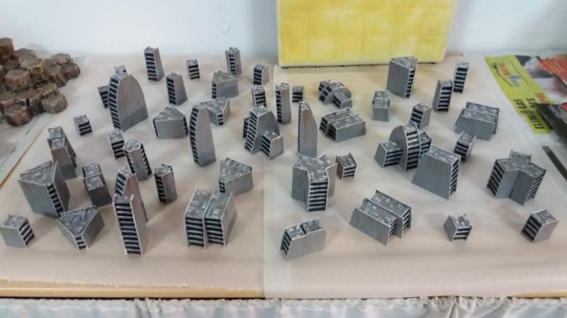 5mm, Battletech, Buildings, Epic, Scratch Build, Terrain