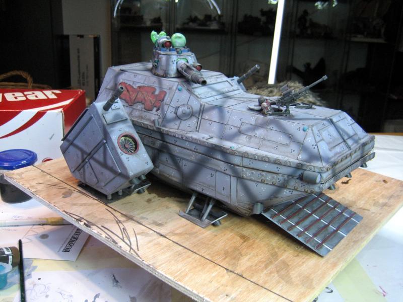 Imperial Guard, Lander, Shuttle