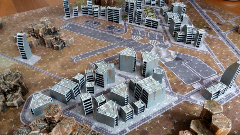 Battlemech, Battletech, Future, Futuristic, Gaming Mat, Mat, Mech, Terrain