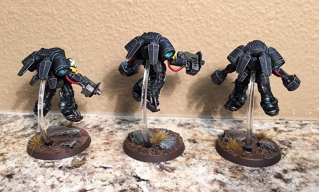 Black, Inceptor, Primaris, Raven Guard