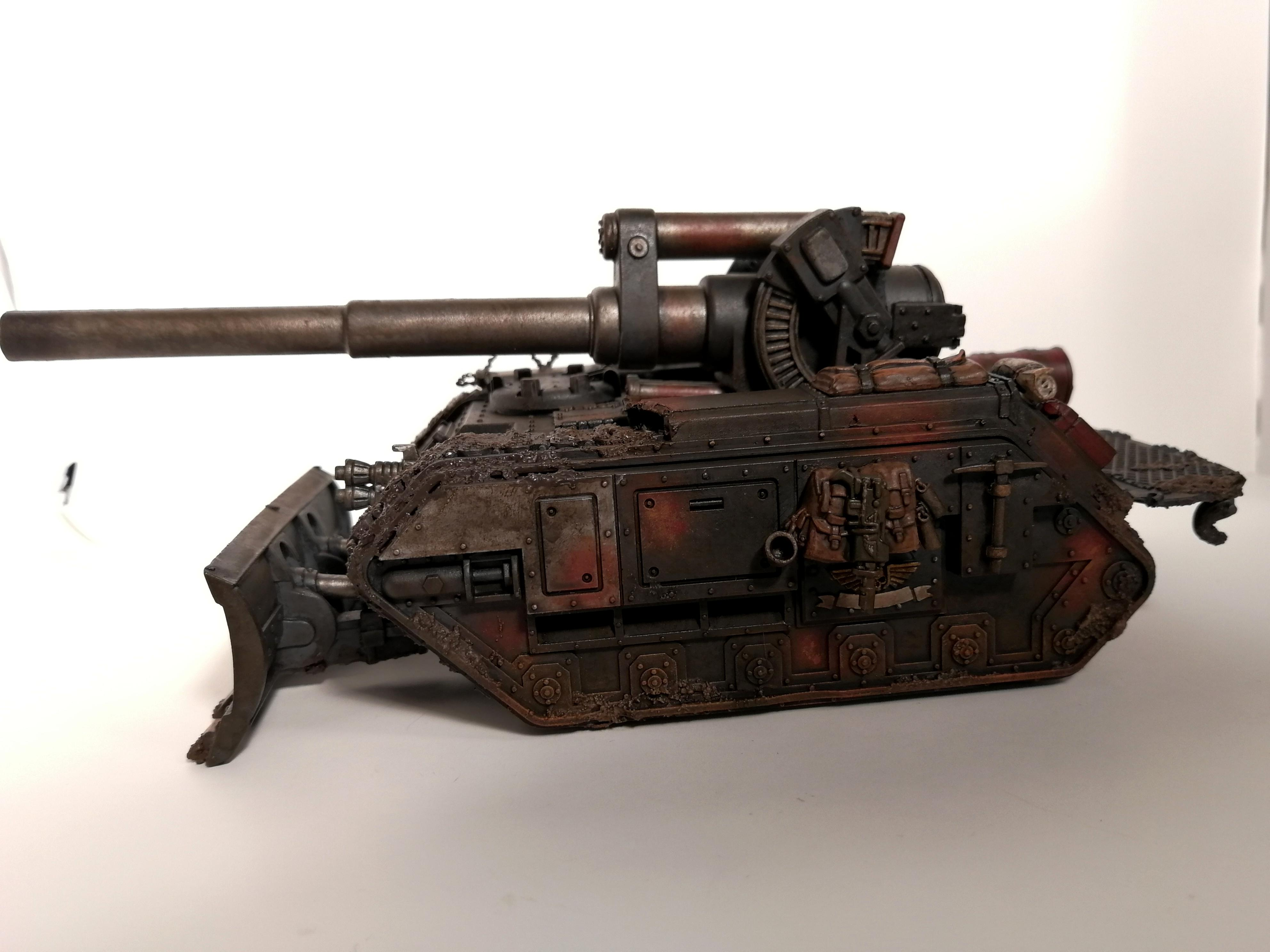 Astra Militarum, Basilisk, Death Korps of Krieg, Rust, Tank, Warhammer 40,000
