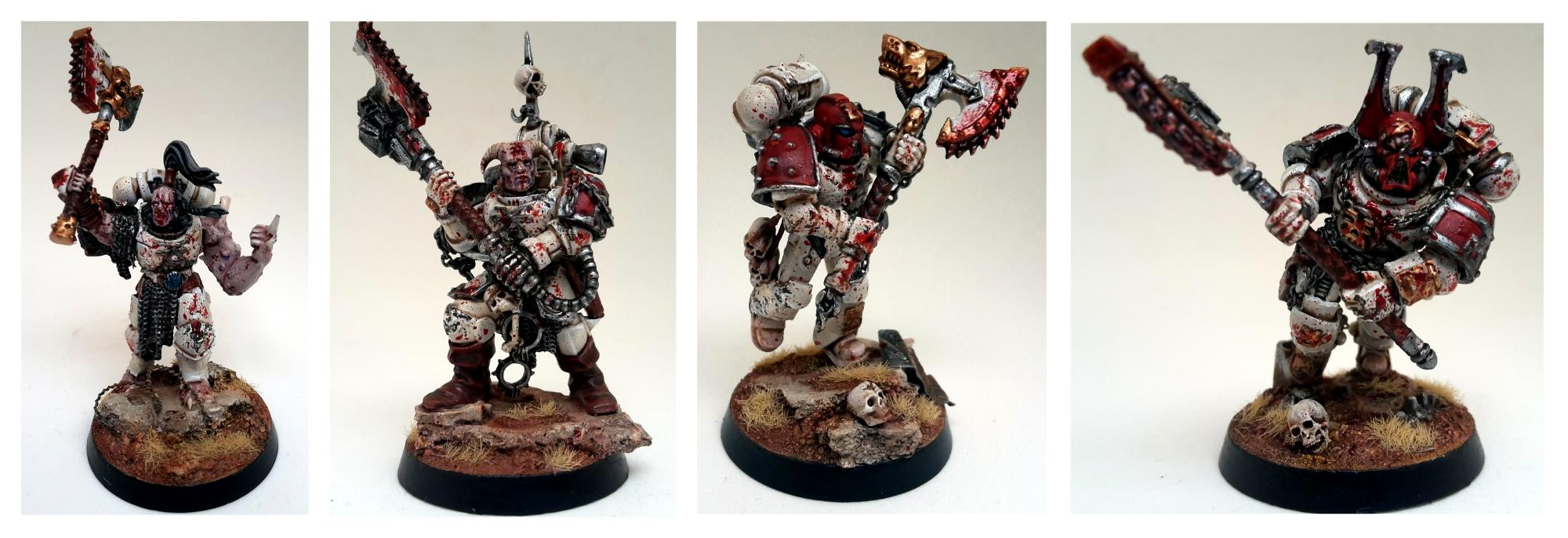 Berserkers, Chaos Space Marines, Conversion, World Eaters