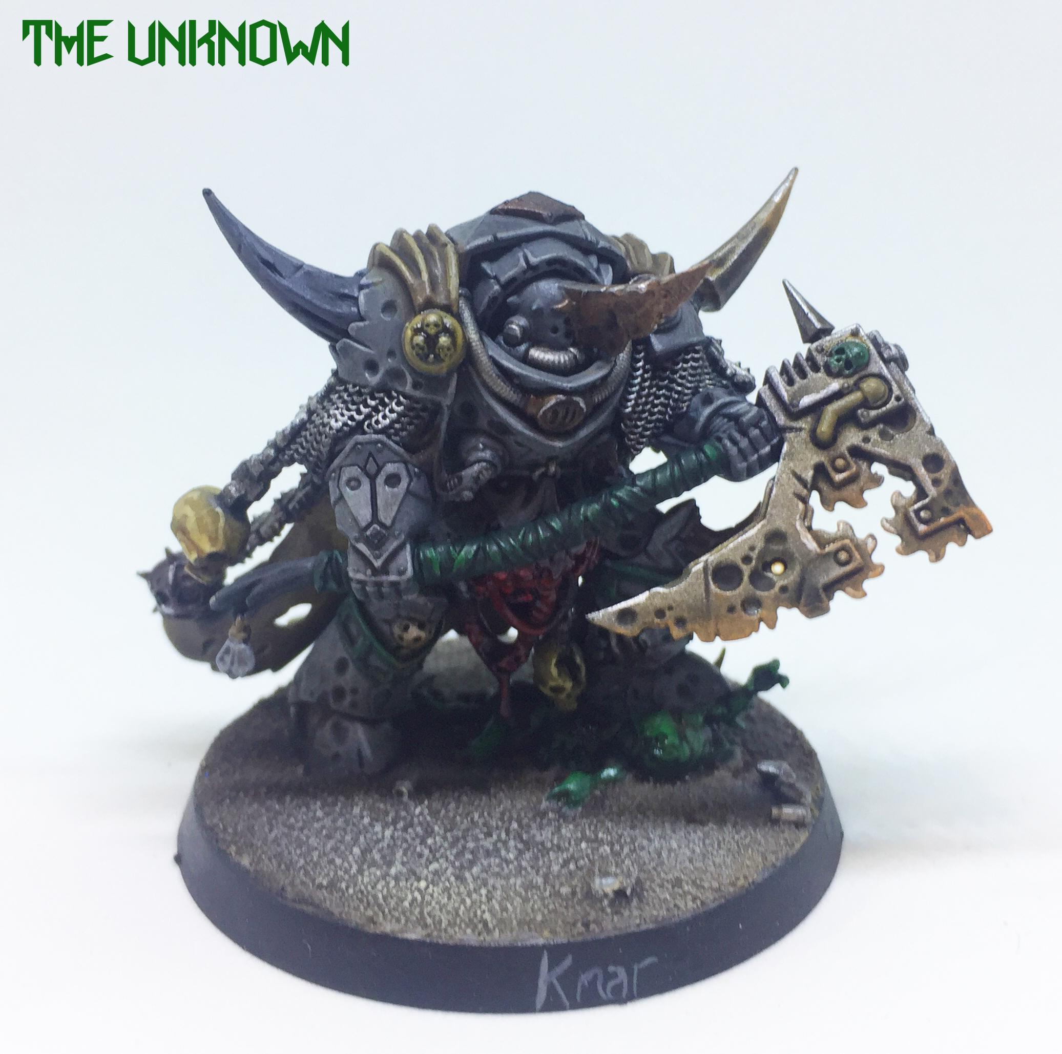 Chaos Lord, Chaos Space Marines, Dark Imperium, Death Guard, Lord Of Contagion, Nurgle, Terminator Armor, Warhammer 40,000