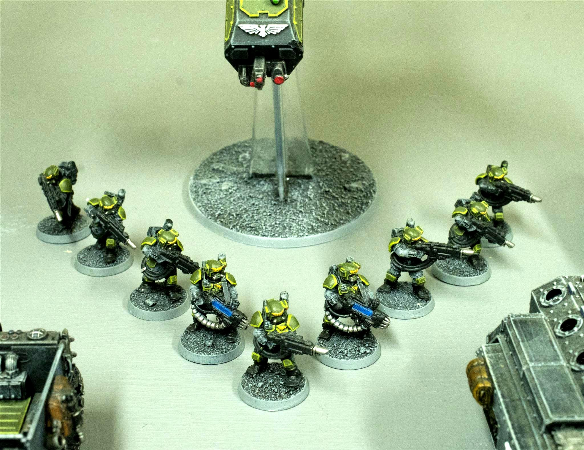 317th Sathanas Hoplites, Astra Militarum, Carapace Armour, Guard, Imp Guard, Imperial Guard, Kasrkin, Scions, Storm Troopers