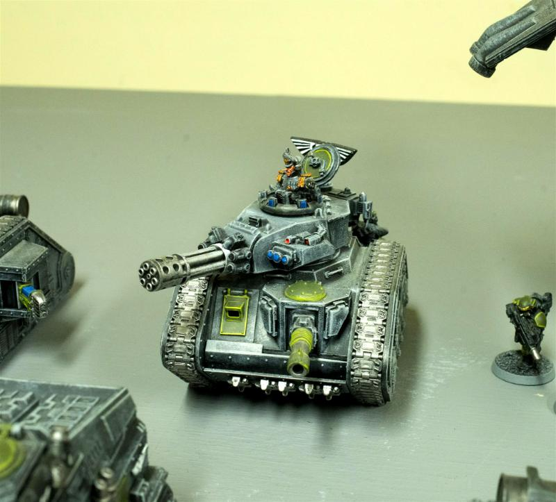 317th Sathanas Hoplites, Astra Militarum, Count As Tank Commander Pask, Guard, Imp Guard, Imperial Guard, Leman Russ, Leman Russ Punisher, Leman Russ Tank Commander, Tank Commander Pask, Tank Commander Pask Conversion