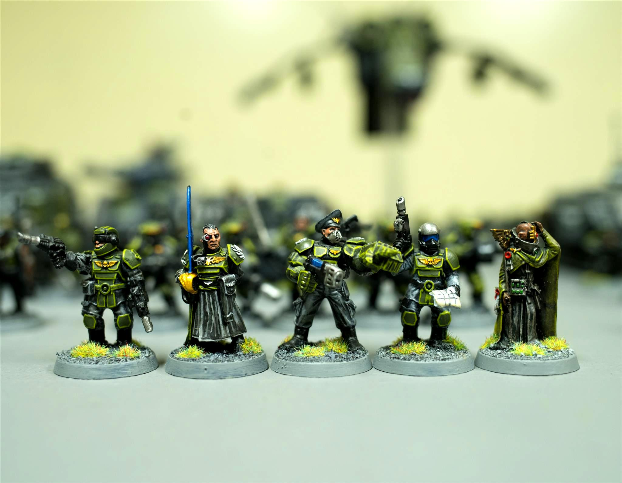 317th Sathanas Hoplites, Astra Militarum, Astropath, Bodyguard, Bodyguards, Colonel, Command Squad, Guard, Imp Guard, Imperial Guard, Iron Hand Straken, Master Of The Fleet