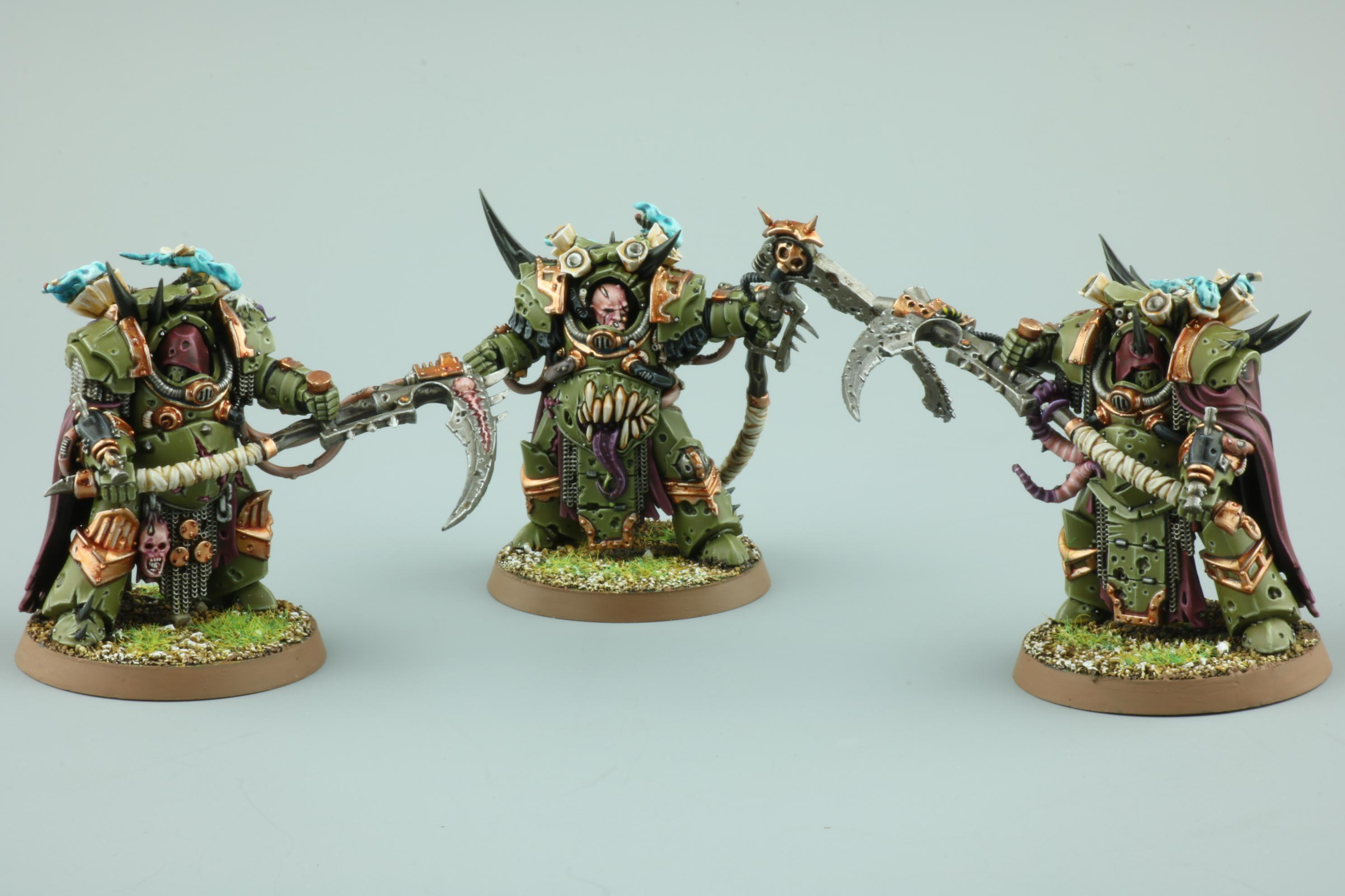 Death Guard, Deathshroud Bodyguard, Warhammer 40,000