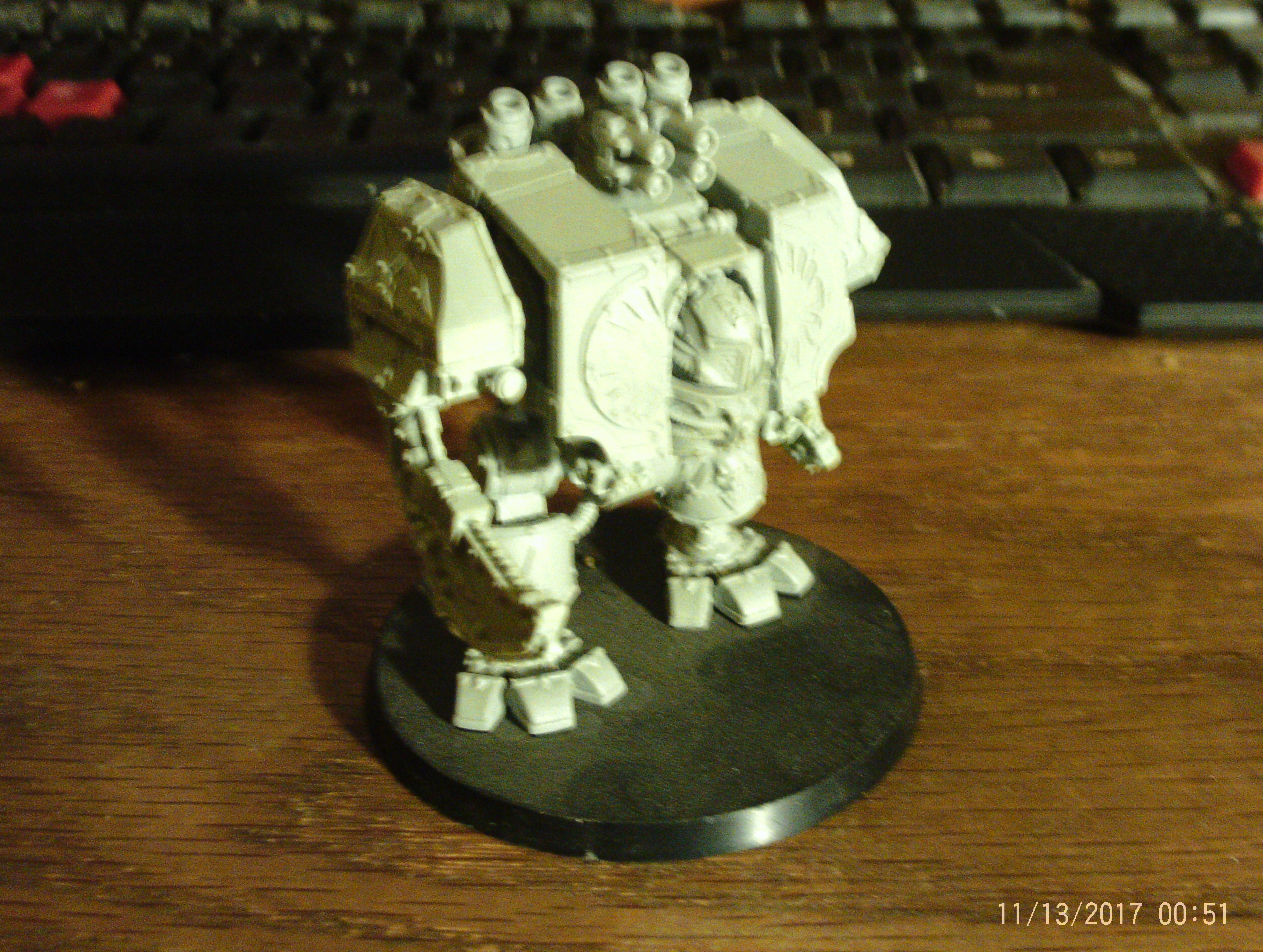 FW World Eaters Dreadnought unpainted