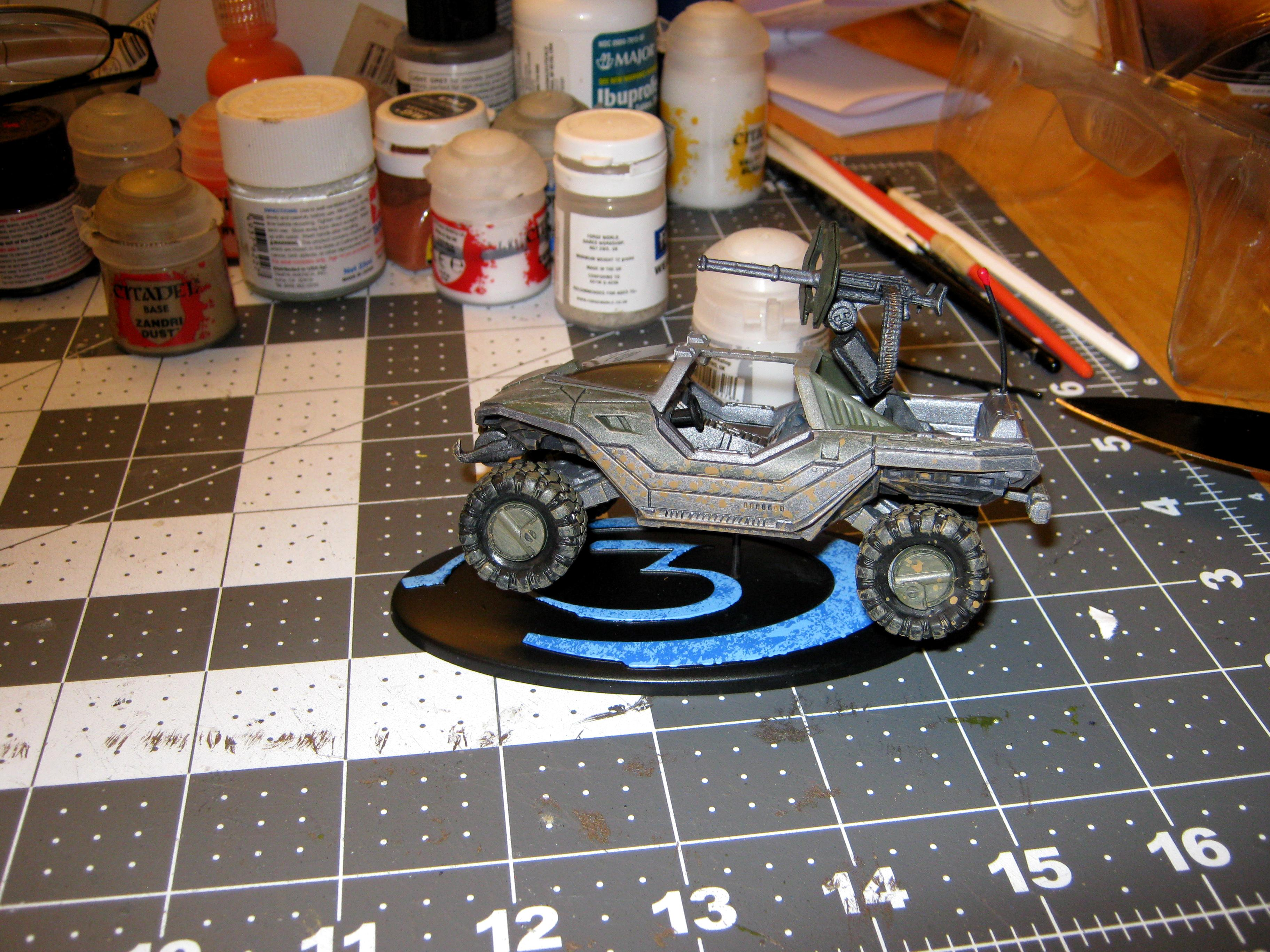 4x4, Counts As, Fast Attack, Halo, Halo 3, High Mobility Vehicle, Imperial, Jeep, M12, Mcfarlane Toys, Recon Vehicle, Scout Vehicle, Toy, Unsc, Warthog