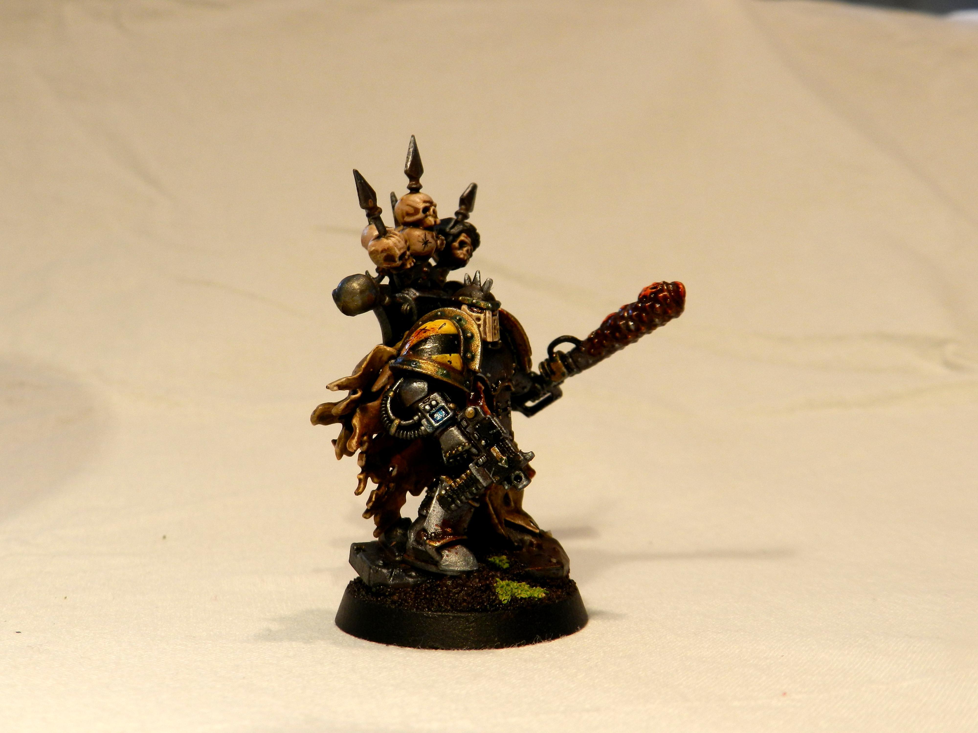 Chaos Space Marines, Dark Apostle, Iron Warriors