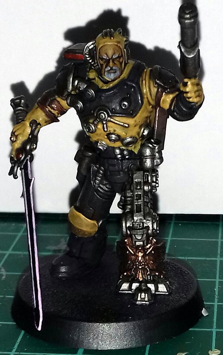 Big, Cyborg, Inquisition, Space Marines