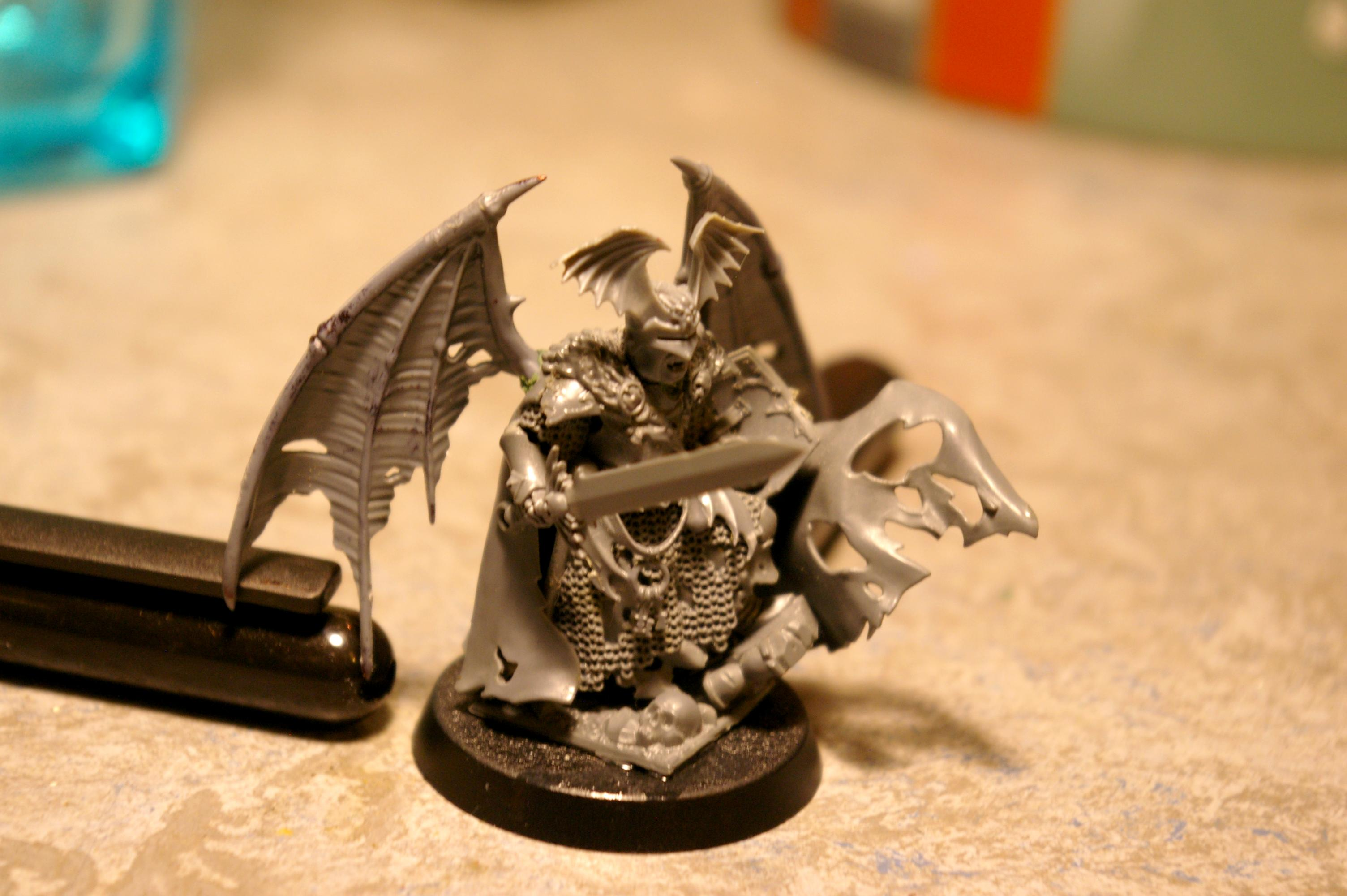 Age Of Sigmar, Death, Vampire Counts, Vampire Lord, Warhammer Fantasy, Work In Progress