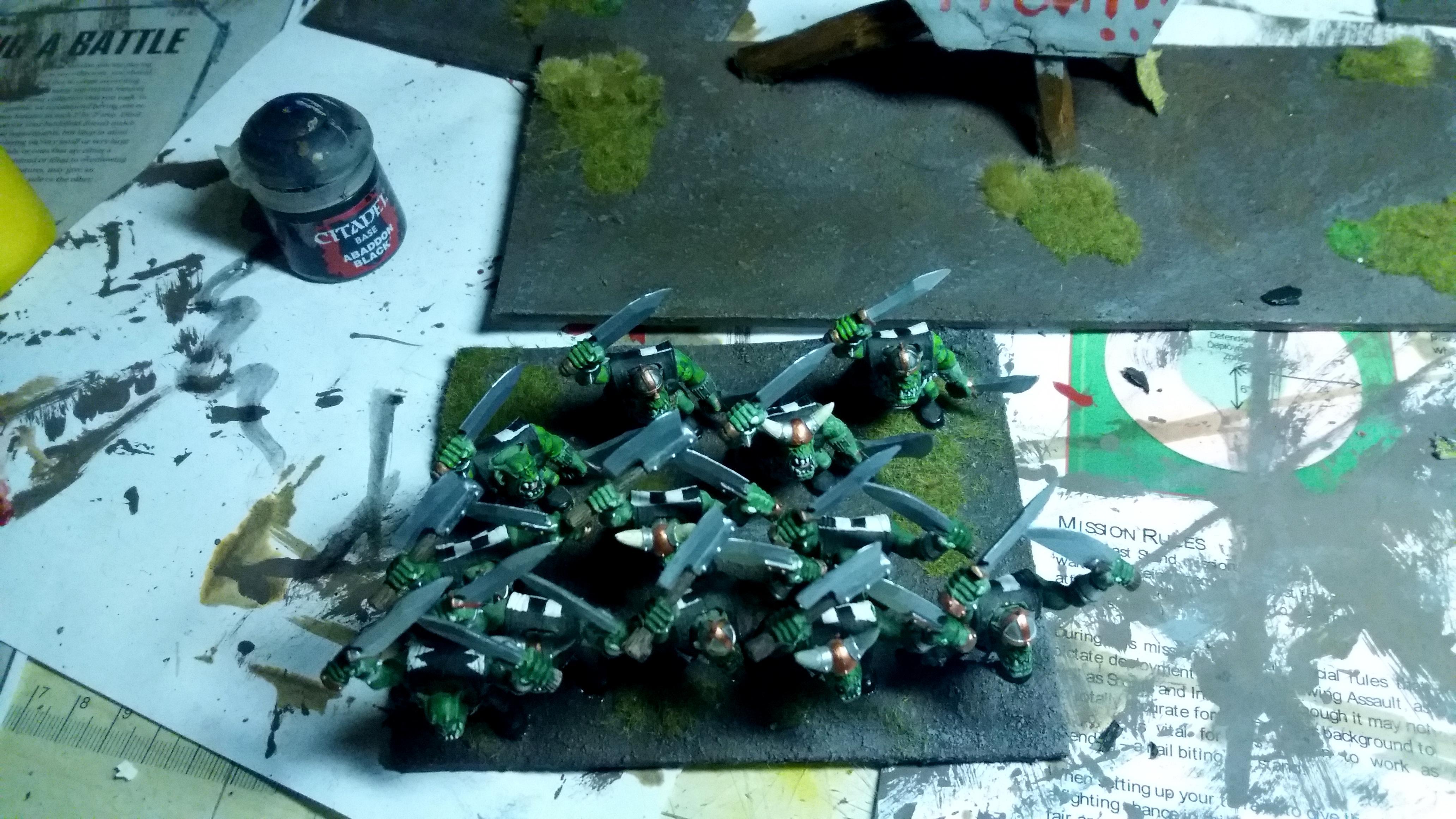 Ax, Kings Of War, Kow, Morax, Orcs, Regiment