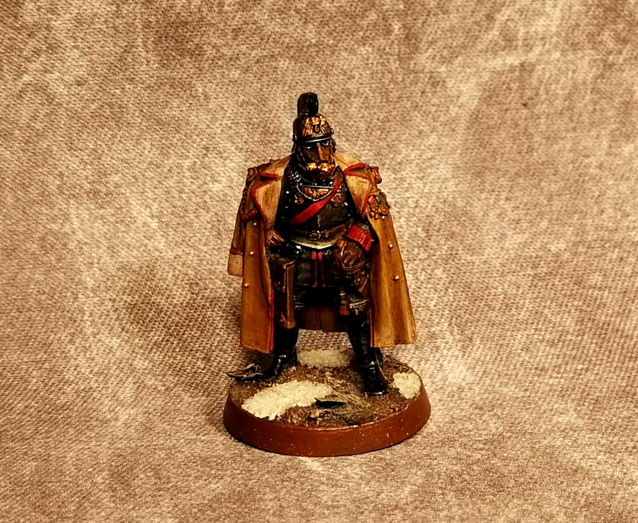 Astra Militarum, Company Commander, Death Korps of Krieg, Imperial Guard, Marshal, Warhammer 40,000