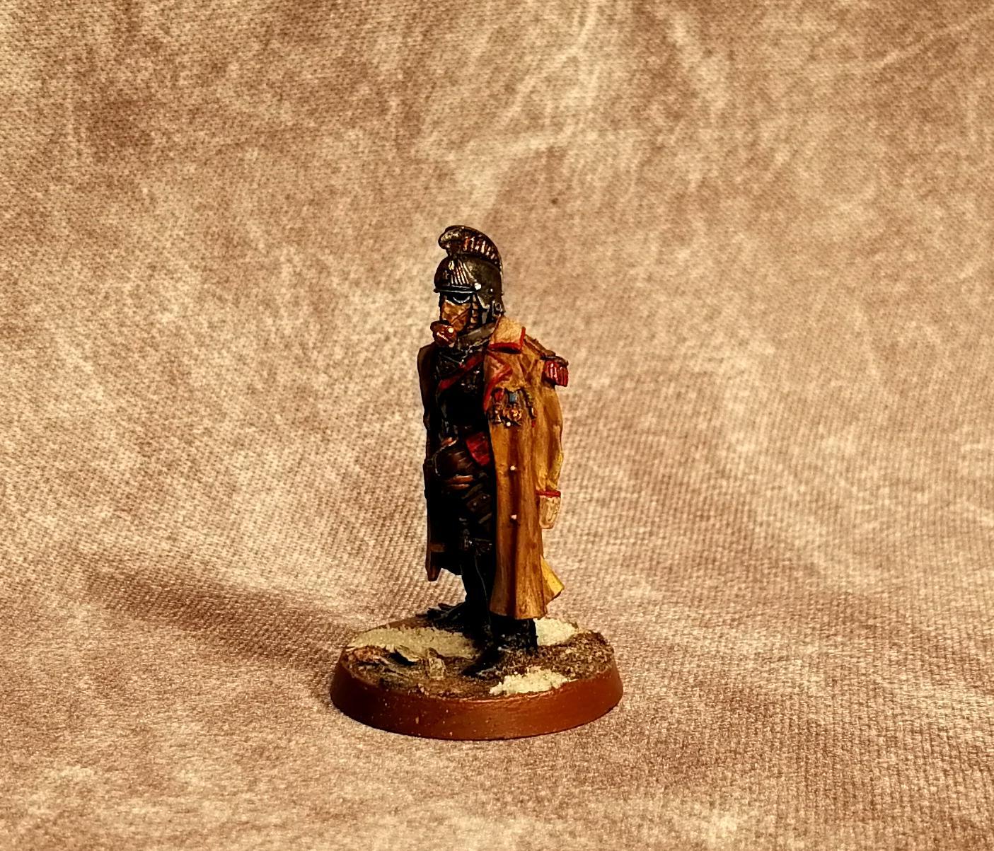 Astra Militarum, Company Commander, Death Korps of Krieg, Imperial Guard, Marshal, Warhammer 40,000