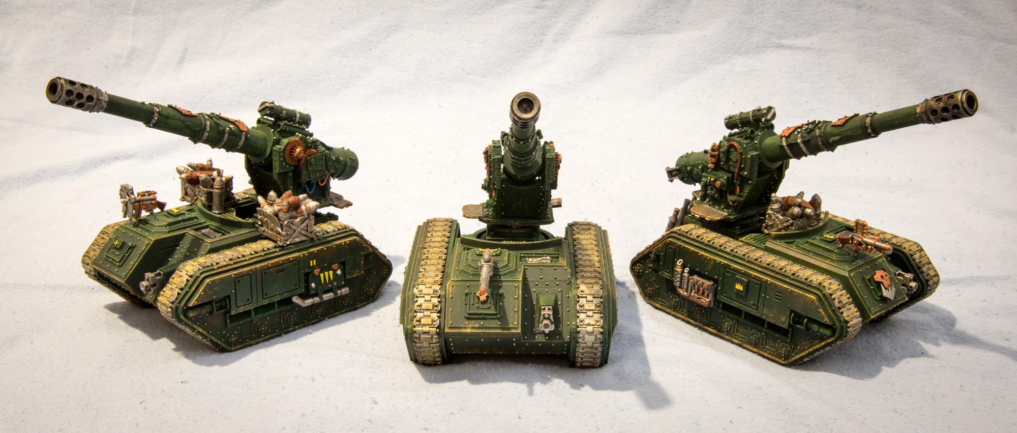 Basilisk, Battery, Conversion, Imperial Guard