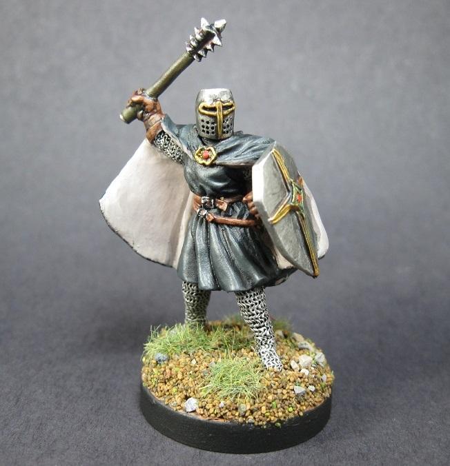 02178 Knight Templar, Painted Reaper Miniature, Reaper Miniatures, Reaper Minis, Rpg Miniature