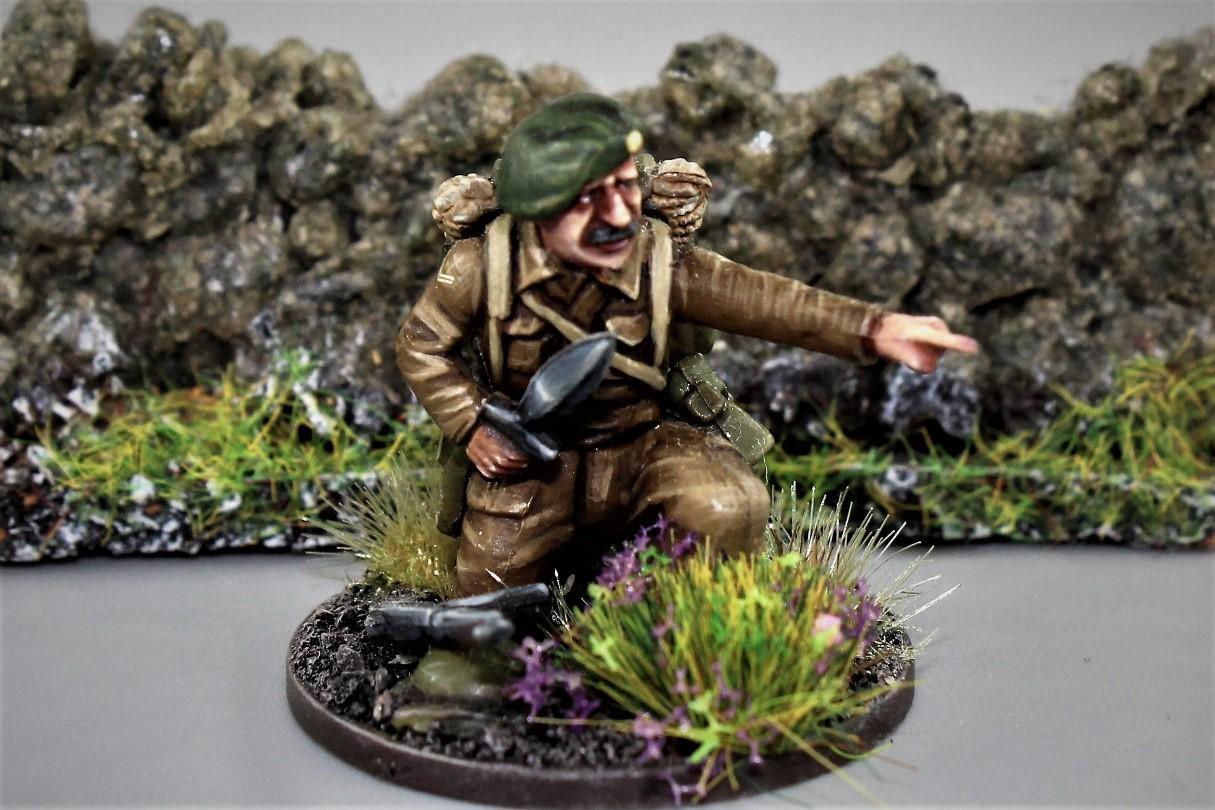 Bolt Action, British Army, Commandos, Oyal Marine Commandos, Royal Marine Commandos, Sherman, Sherman Firefly, Warlord Games
