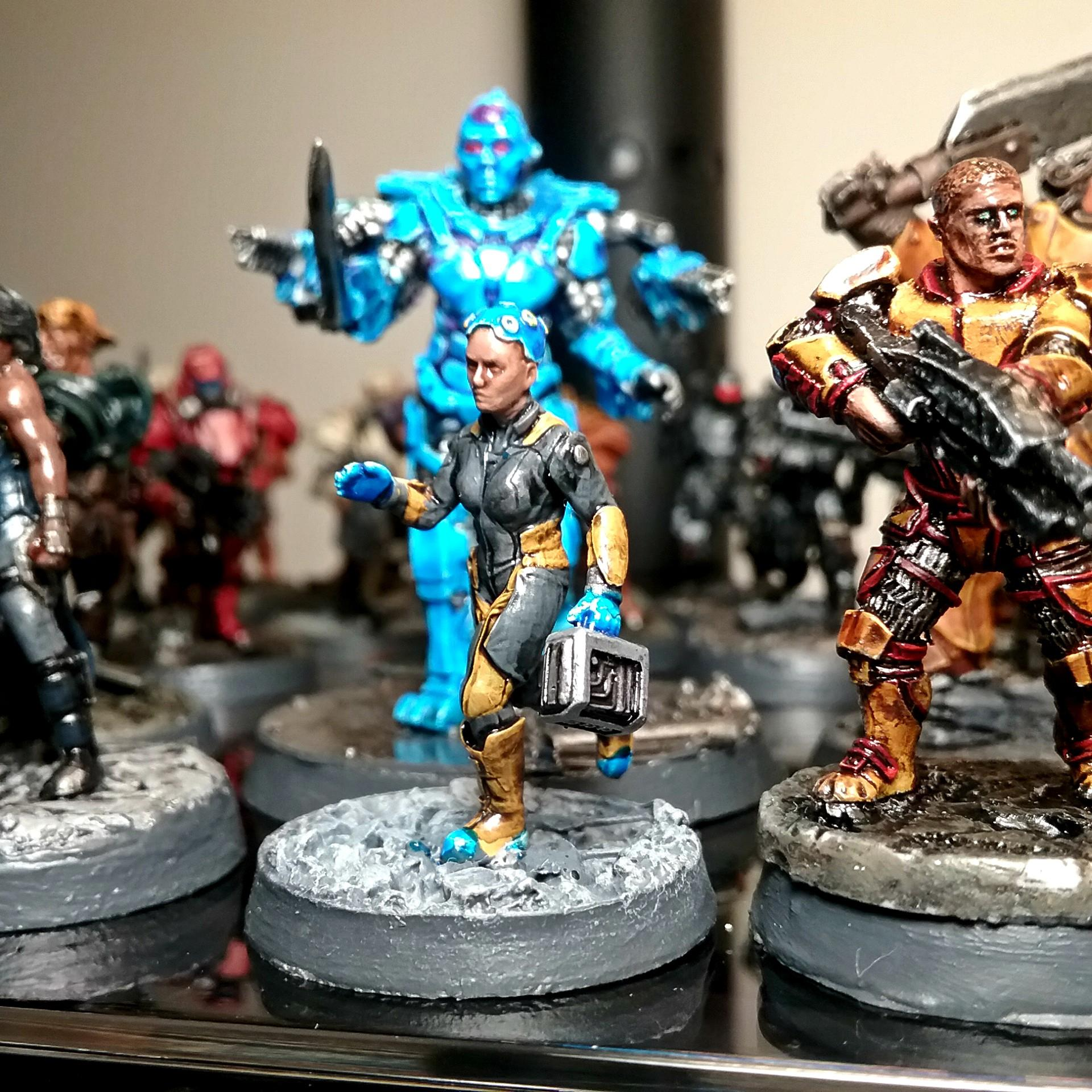 Afterlife, Brother Vinni Lightly Armored Trooper, Lena Petrova, Republic