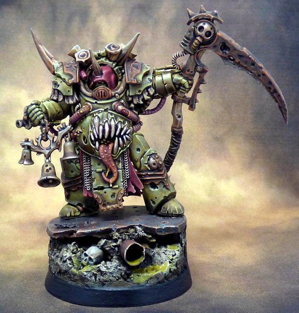Chaos, Chaos Space Marines, Death Guard, Deathshroud, Nurgle, Terminator Armor, Warhammer 40,000