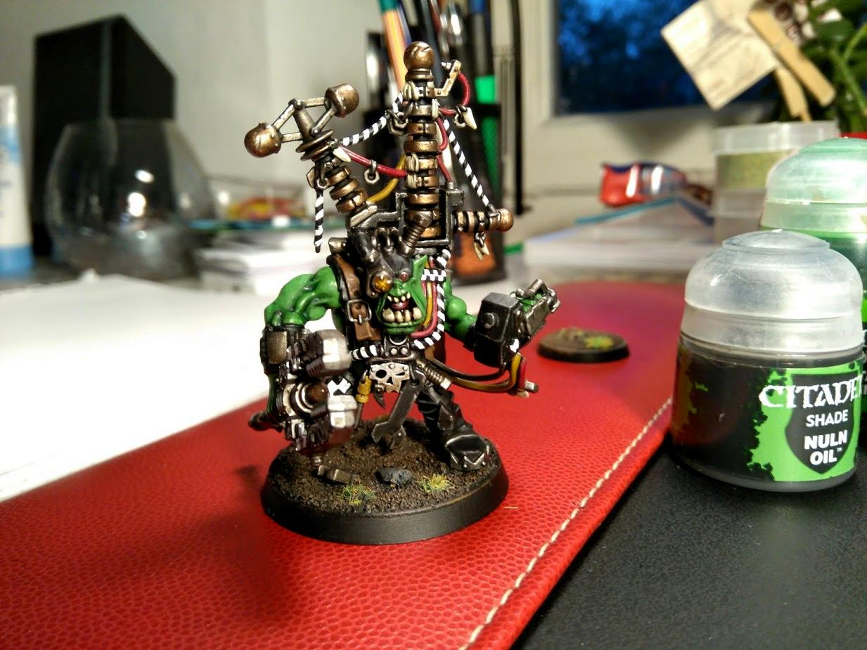 Big Mek, Kustom Force Field, Orks, Warhammer 40,000