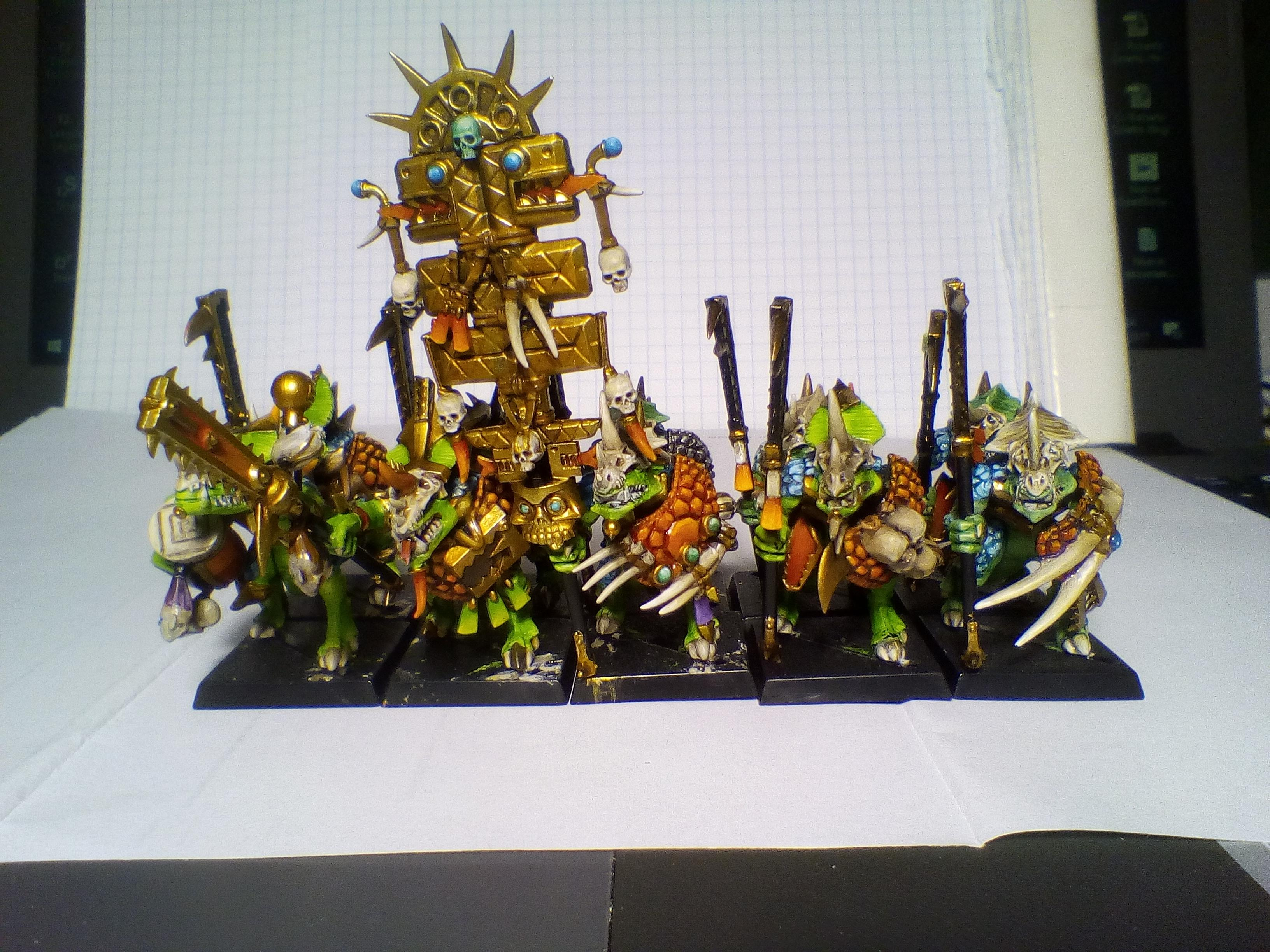 Guard, Lizard, Lizardmen, Seraphon, Temple