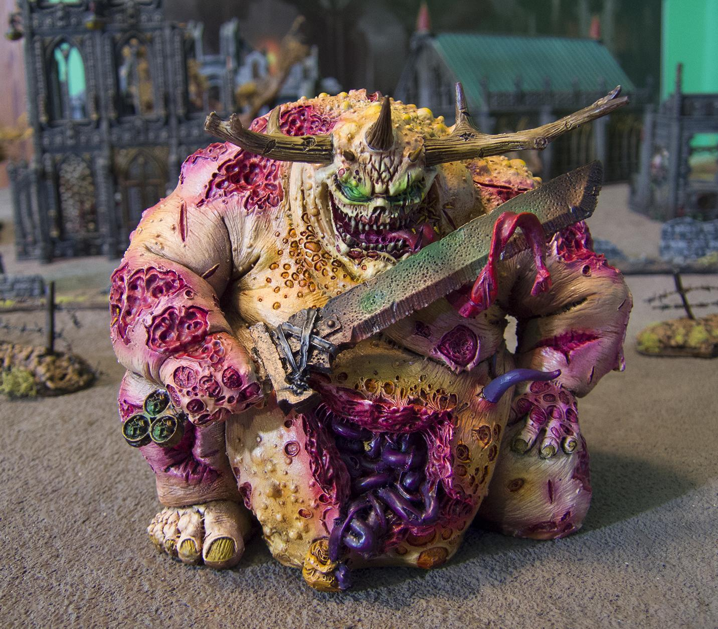 Chaos, Chaos Space Marines, Great Unclean One, Guo, Nurgle, Ouze