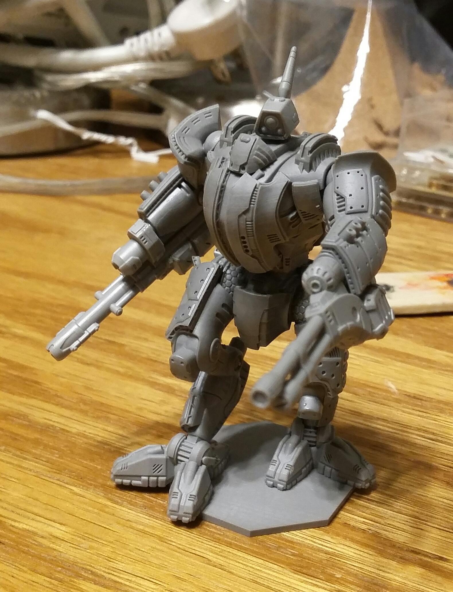 Battlemech, Mech, Robot, Ronin