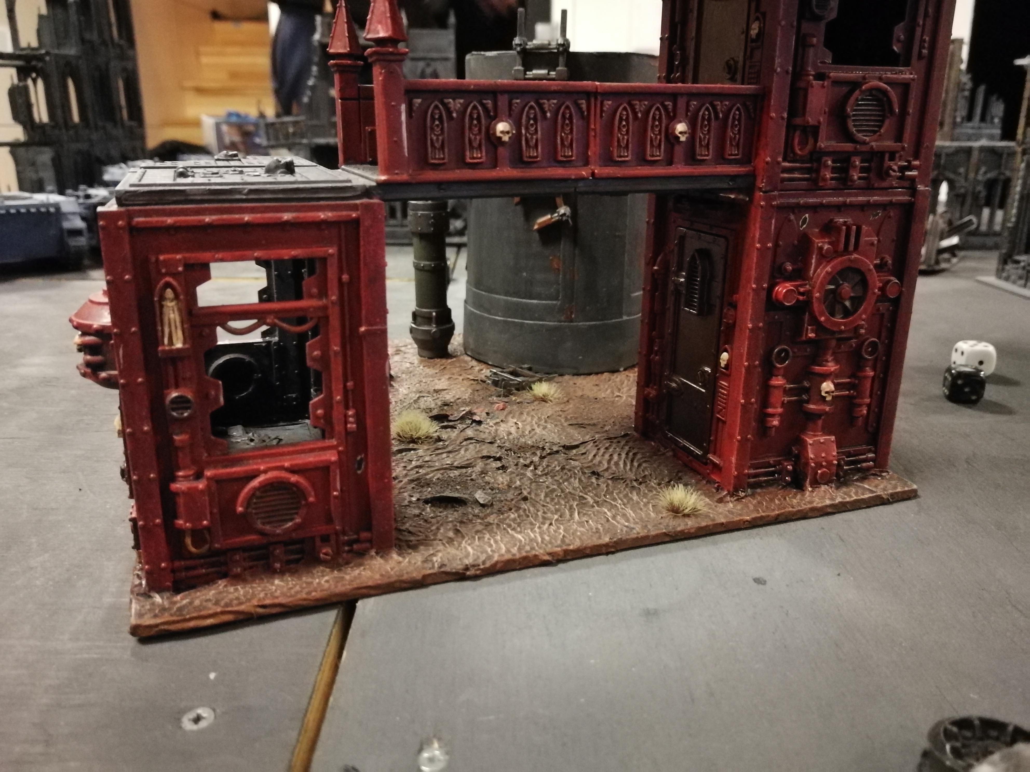 Buildings, Oil, Station, Terrain, Warhammer 40,000