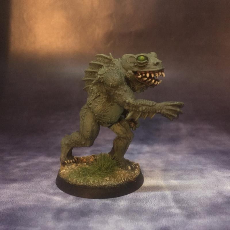 Dagon Statue