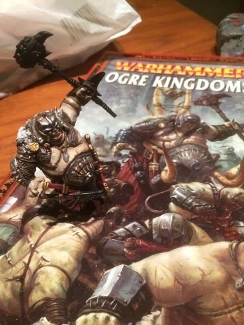 Bruiser, Conversion, Greenstuff, Hive Tyrant, Ogor, Ogre Kingdoms, Pro Painted, Work In Progress