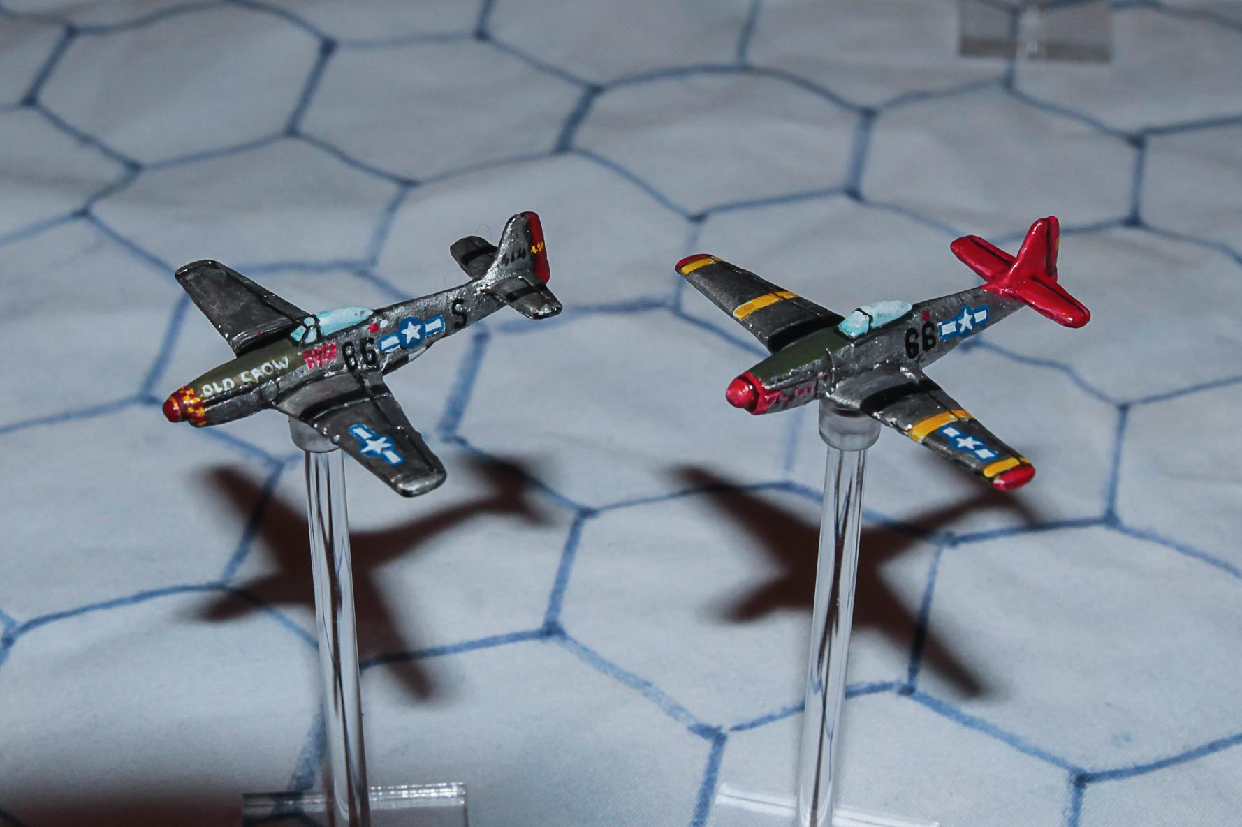 1:300 Scale, 6mm Scale, Air Combat, Airborne, Aircraft, Airplane, Check Your 6!, Fighter, Fliers, Historical, P-51, Usaaf, World War 2