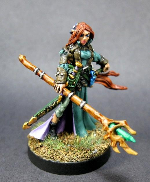 01609 25th Anniversary  Lysette, Carrero Arts, Dark Heaven Legends, Dungeons And Dragons, Painted Reaper Miniature, Pathfinder Rpg, Reaper Minis, Reaper Painted Miniature, Rpg Miniature, Table Top Wargames, Warlord Miniatures