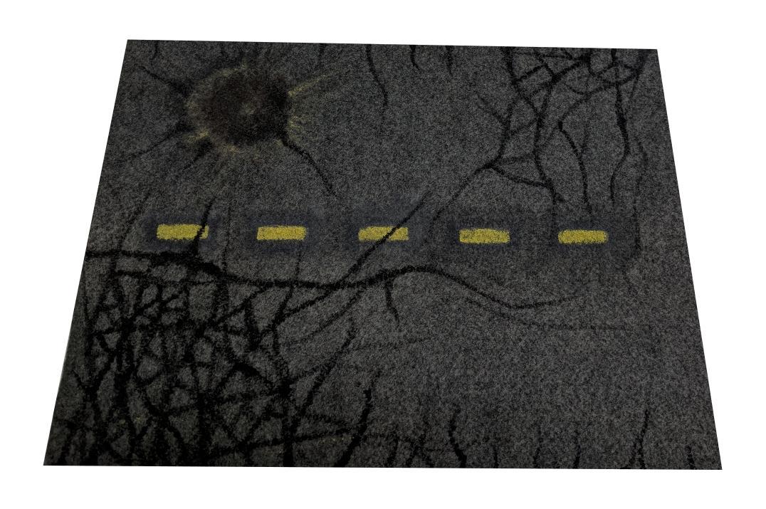 Craters, Roads, Scratch Build, Terrain