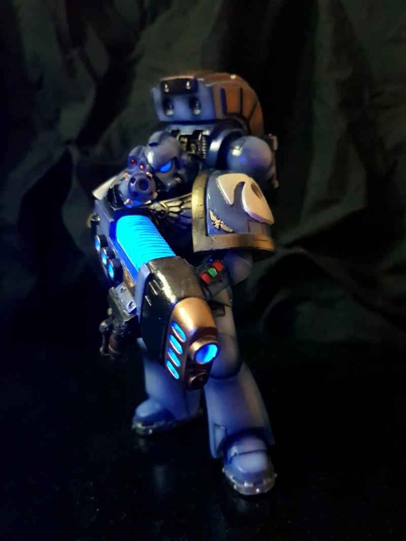 Object Source Lighting, Plasma Gun, Space Marines