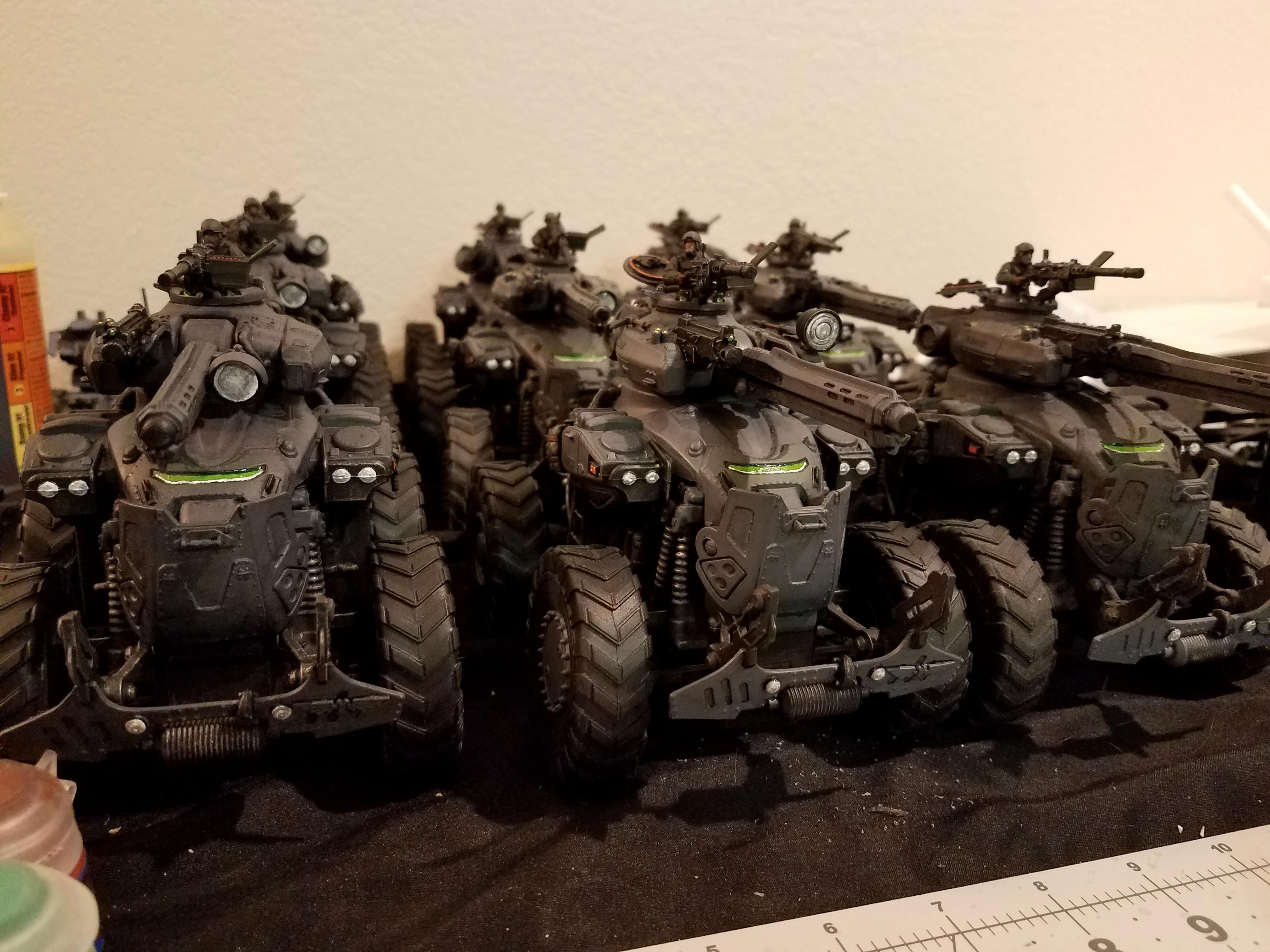 Gears Of War, Leman Russ, Mechanized, Proxy, Russ, Russes, Tank, Video Game