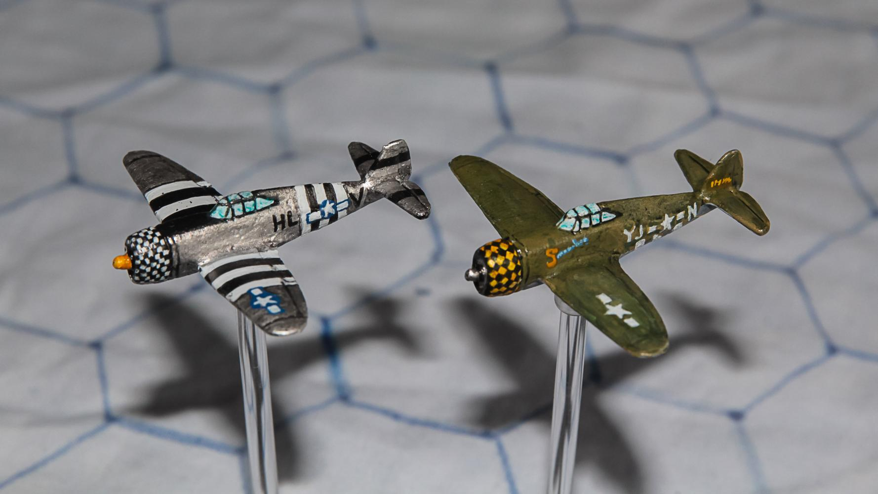 1:300 Scale, 6mm Scale, Air Combat, Airborne, Airplane, Finland, Fliers, French, Germans, Imperial Japan, Italian, Luftwaffe, P-47, Raf, Republic Of China, Soviet, Thunderbolt, Usaaf, World War 2
