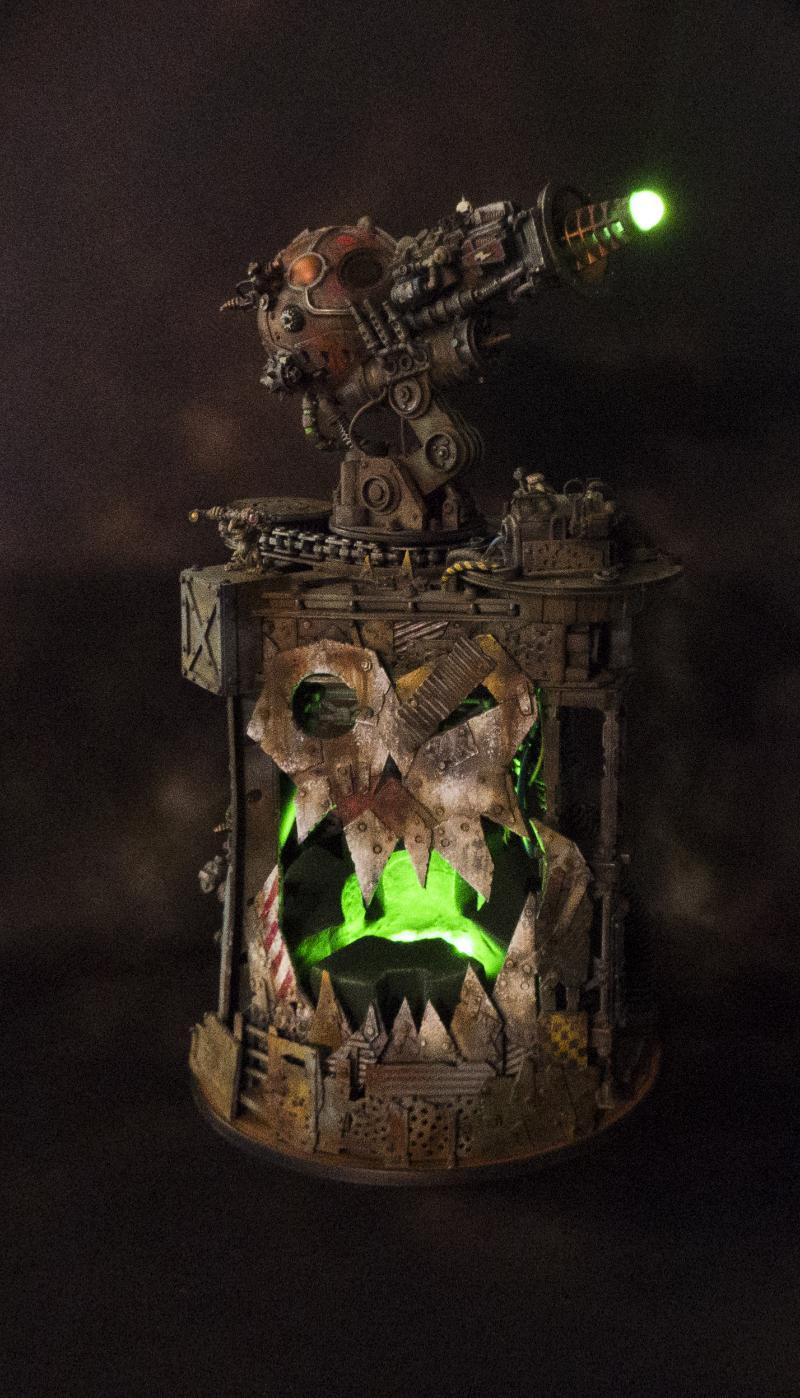 Looted, Necrons, Obliterators, Orks, Plasma, Scratch Build, Terrain