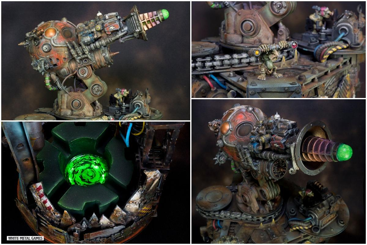 Looted, Necrons, Obliterators, Orks, Plasma, Scratch Build, Terrain
